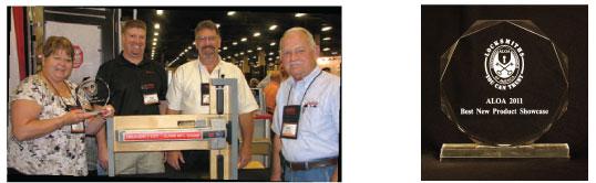 Detex ECL-230X-TDB wins 2011 ALOA Best New Product Award